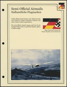 Semi-Official Airmails Cover