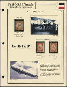 Rhine & Main Airmails