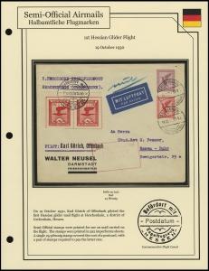 1st Hessian Glider Flight