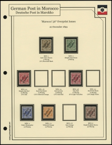 1899 Overprints