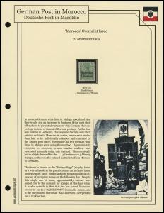 1905 'REICHSPOST' Overprints