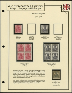 Germania Forgeries