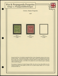 Crown / Kaiser Forgeries