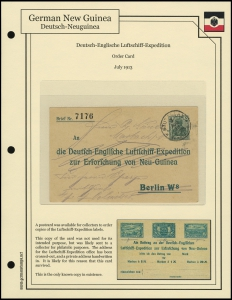 Luftschiff Expedition Order Card
