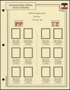 1893 Overprints Plate Flaws
