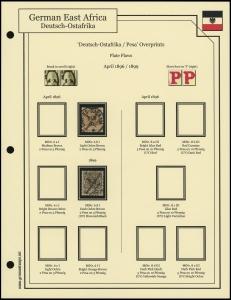 1896 Overprints Plate Flaws