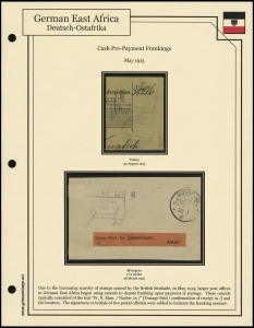 Cash Pre-Payment Frankings