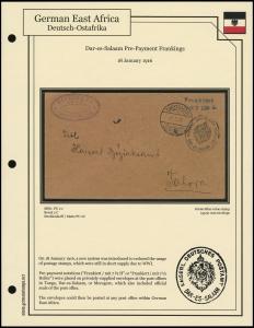 Dar-Es-Salaam Pre-Payment Frankings