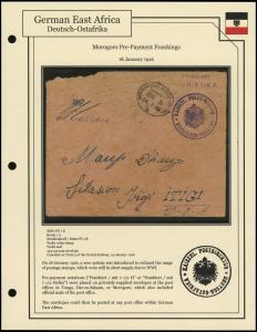 Morogoro Pre-Payment Frankings