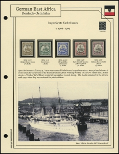 1905 / 1920 Imperf Yachts