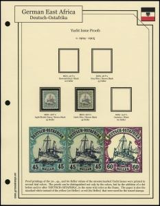 1905 Yacht Issue Proofs