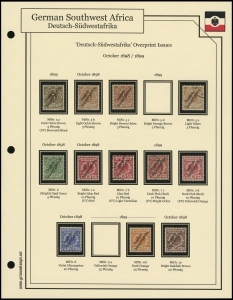 1898 / 1899 Overprints