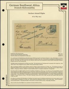 Buchner Airmail Flight, 3rd Leg