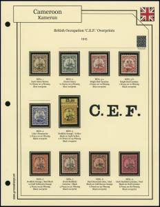 British Occupation Overprints