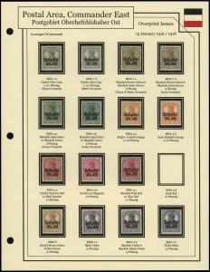 1916 / 1918 Overprints