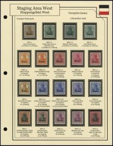 1916 Overprints