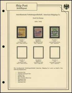 A.V. 1922 / 1923 Overprints