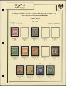 H.S.D.G. Line 1913 / 1918