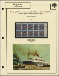 H.S.D.G. Line 1920