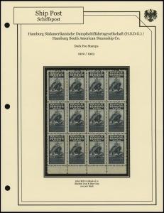 H.S.D.G. Line 1922 / 1923