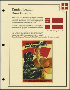 Danish Legion Cover