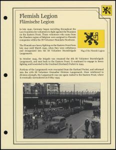 Flemish Legion Cover