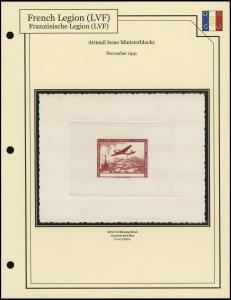 Airmail Ministerblock
