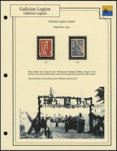 Galician Legion Labels