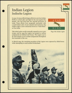 Indian Legion Cover