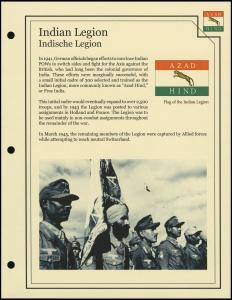 Indian Legion Cover