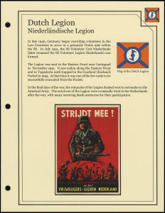 Dutch Legion Cover