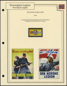 Den Norske Legion Label