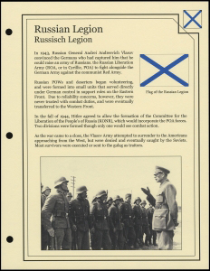 Russian Legion Cover