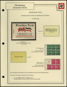 Friedrich the Great Booklet