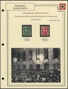 Anniversary of Nazi Power