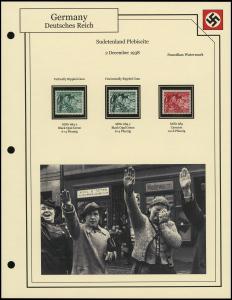 Sudetenland Plebiscite