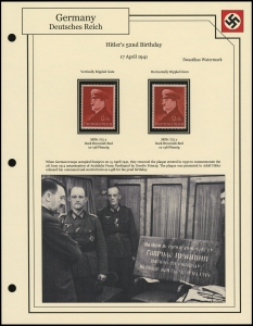 Hitler's 52nd Birthday