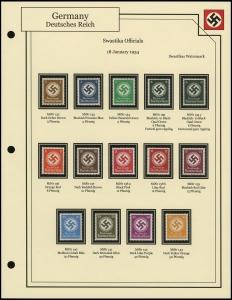 1934 Swastikas