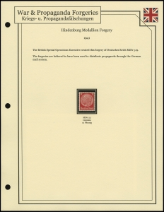 Hindenburg Medallion