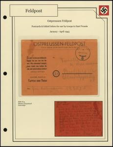 Ostpreussen Feldpost