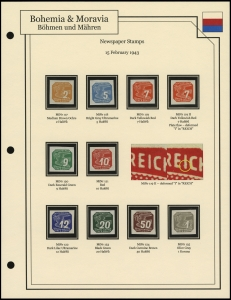 Newspaper Stamps