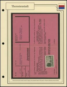 Theresienstadt Notice Sheet