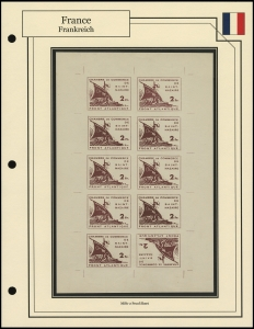 St Nazaire Atlantic Front Proof Sheet
