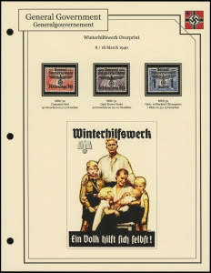 Winterhilfswerk Overprints
