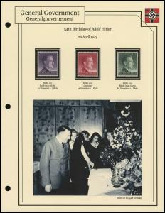 Hitler's 54th Birthday