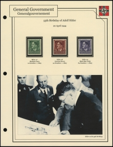 Hitler's 55th Birthday