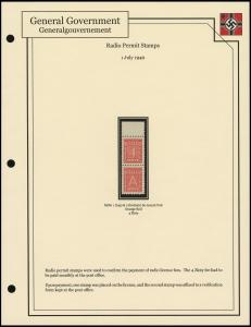 Radio Permit Stamps