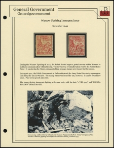 Warsaw Uprising Issue