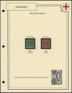 Blue Paper Definitives