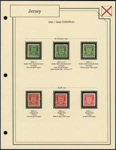 1941 / 1942 Definitives